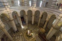 Baptistery van Pisa Royalty-vrije Stock Afbeelding