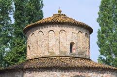 Baptistery. Vigolo Marchese. Emilia-Romagna. Italy. Royalty Free Stock Photography