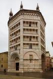 Baptistery von Parma Lizenzfreies Stockfoto