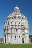 Baptistery w Pisa, Tuscany Fotografia Stock
