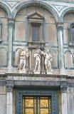 baptistery wschodnia Florence brama zdjęcia royalty free