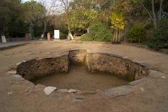 baptisteryen Arkivfoton