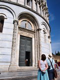 baptisteryitaly piza Royaltyfri Fotografi