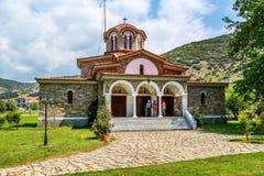 Baptistry εκκλησία του ST Lydia ` s, Lydia, Philippi, Ελλάδα στοκ εικόνα