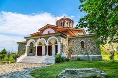Baptistry εκκλησία του ST Lydia ` s, Lydia, Philippi, Ελλάδα στοκ φωτογραφίες