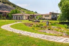 Baptistry εκκλησία του ST Lydia, Lydia, Philippi, Ελλάδα στοκ εικόνα με δικαίωμα ελεύθερης χρήσης