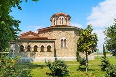 Baptistry εκκλησία του ST Lydia ` s, Lydia, Philippi, Ελλάδα στοκ φωτογραφία