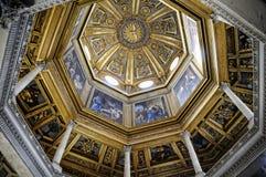 Baptistry базилики St. John Lateran в Риме Италии Стоковые Изображения