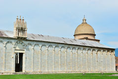 Baptistry cathedral of pisa Royalty Free Stock Photo
