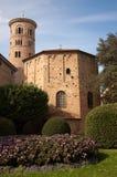 Baptistry di neon, Ravenna, Italia Fotografie Stock Libere da Diritti