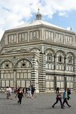 Baptistry of Florenze - Italy. royalty free stock photography