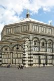Baptistry of Florenze - Italy. stock photography