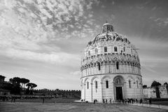 Baptistry, Pisa Royalty Free Stock Photography