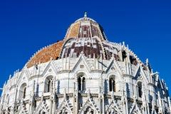 Baptistry in Pisa, Italy Stock Image