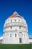 Baptistry in Pisa, Italy Royalty Free Stock Photo