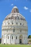Baptistry at Pisa Stock Image