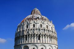 Baptistry of St. John, Pisa Stock Photos