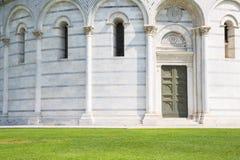 baptysterium cathdral dei hdr Italy oparty cudu miracoli piazza Pisa kwadrata wierza Tuscany Zdjęcie Stock