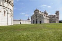 baptysterium cathdral dei hdr Italy oparty cudu miracoli piazza Pisa kwadrata wierza Tuscany Zdjęcia Stock