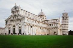 baptysterium cathdral dei hdr Italy oparty cudu miracoli piazza Pisa kwadrata wierza Tuscany Zdjęcie Royalty Free