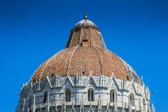 baptysterium cathdral dei hdr Italy oparty cudu miracoli piazza Pisa kwadrata wierza Tuscany Zdjęcia Royalty Free