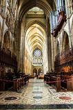 Baptystyczny Katedralny Turo Cornwall w UK Fotografia Royalty Free