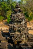 Bapuon.The temple complex of Angkor. royalty free stock photos