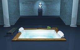 Baquet de Bath illustration de vecteur