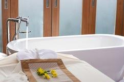 Baquet de Bath Photo libre de droits