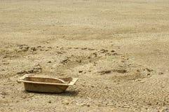 Baquet de sécheresse et de bain Photo libre de droits