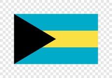 Barém - bandeira nacional ilustração royalty free