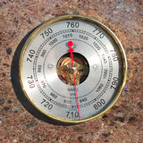 Barómetro Foto de archivo libre de regalías