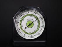 Barómetro del altímetro imagen de archivo libre de regalías