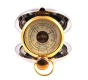 Barómetro del bolsillo Fotografía de archivo