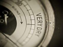 Barómetro muy seco Imagen de archivo