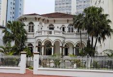 Barón Mansion del café en Sao Paulo Imagen de archivo libre de regalías