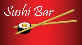 Bar à sushis Image stock