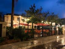 Bar à sushis thaïlandais de Chambre, St Augustine, la Floride image stock