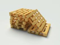 barłóg drewniany Zdjęcie Stock