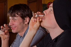 In the bar Stock Photography