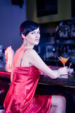 In the bar Royalty Free Stock Photos