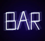Bar Royalty Free Stock Photography