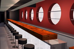 Bar 3D render image Royalty Free Stock Photos