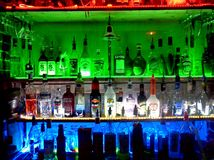 Bar Image libre de droits