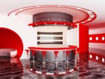 Bar. Interior of a modern bar Royalty Free Stock Image