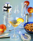 Bar accessories royalty free stock photo