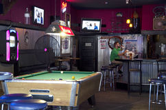 Bar in America Royalty Free Stock Images