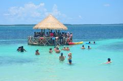 Free Bar At The Perfect Day CocoCay Royalty Free Stock Photos - 155135218
