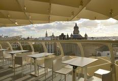 Bar au parasol de Metropol Photographie stock libre de droits
