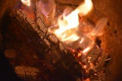 Flames or fire. Bar-b-q behaviour black blazing balefire broil burn campfire close closeup cooking danger dangerous Stock Photos